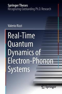 Couverture de l'ouvrage Real-Time Quantum Dynamics of Electron-Phonon Systems