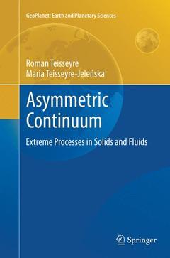 Couverture de l'ouvrage Asymmetric continuum