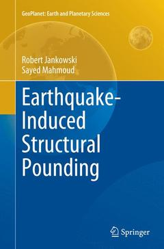 Couverture de l'ouvrage Earthquake-induced Structural Pounding