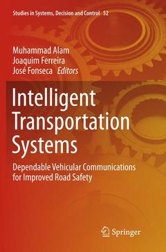 Couverture de l'ouvrage Intelligent Transportation Systems