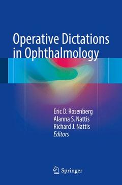 Couverture de l'ouvrage Operative Dictations in Ophthalmology