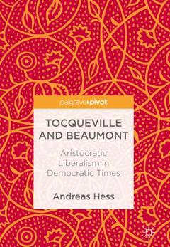 Cover of the book Tocqueville and Beaumont