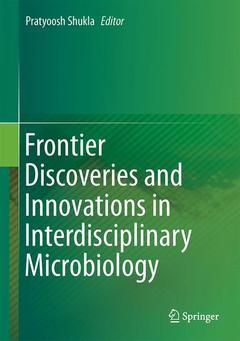Couverture de l'ouvrage Frontier Discoveries and Innovations in Interdisciplinary Microbiology
