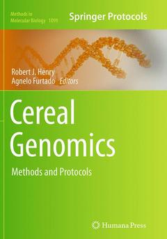 Cover of the book Cereal Genomics