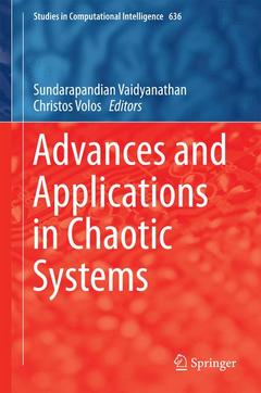 Cover of the book Advances and Applications in Chaotic Systems