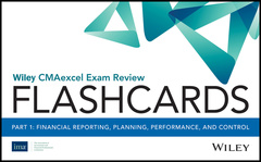 Couverture de l'ouvrage Wiley CMAexcel Exam Review 2018 Flashcards