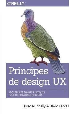 Couverture de l'ouvrage Principes de design UX