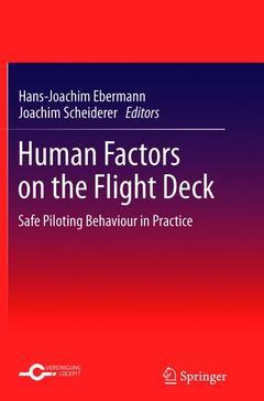 Couverture de l'ouvrage Human factors on the flight deck