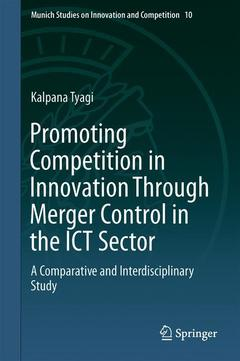 Cover of the book Promoting Competition in Innovation Through Merger Control in the ICT Sector