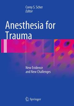 Cover of the book Anesthesia for Trauma