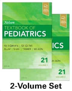 Couverture de l'ouvrage Nelson Textbook of Pediatrics, 2-Volume Set