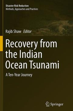 Couverture de l'ouvrage Recovery from Indian Ocean Tsunami