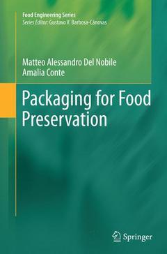 Couverture de l'ouvrage Packaging for Food Preservation