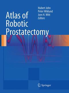 Couverture de l'ouvrage Atlas of robotic prostatectomy (with DVD)