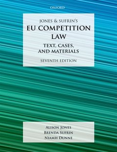 Cover of the book EU Competition Law