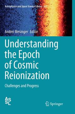 Cover of the book Understanding the Epoch of Cosmic Reionization