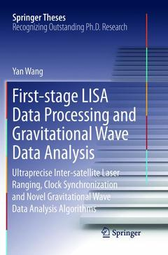 Cover of the book First-stage LISA Data Processing and Gravitational Wave Data Analysis