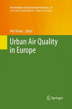 Couverture de l'ouvrage Urban Air Quality in Europe