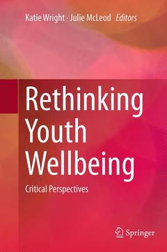 Couverture de l'ouvrage Rethinking Youth Wellbeing