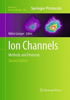 Couverture de l'ouvrage Ion Channels