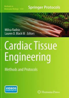 Couverture de l'ouvrage Cardiac Tissue Engineering