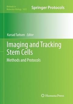 Couverture de l'ouvrage Imaging and Tracking Stem Cells