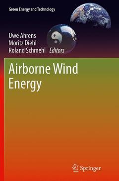 Couverture de l'ouvrage Airborne Wind Energy