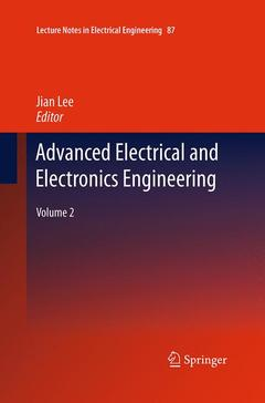 Couverture de l'ouvrage Advanced electrical and electronics engineering: (hardback) (series: lecture notes in electrical engineering, vol 2)