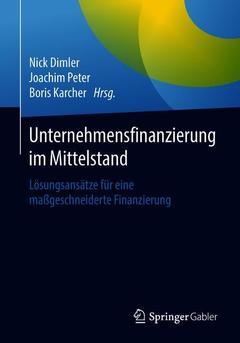 Couverture de l'ouvrage Unternehmensfinanzierung im Mittelstand