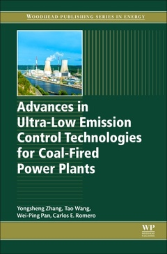 Cover of the book Advances in Ultra-Low Emission Control Technologies for Coal-Fired Power Plants