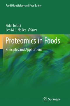 Cover of the book Proteomics in foods