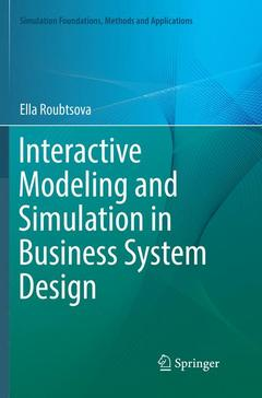 Couverture de l'ouvrage Foundations of Interactive Modelling and Simulation