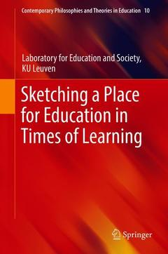Couverture de l'ouvrage Sketching a Place for Education in Times of Learning