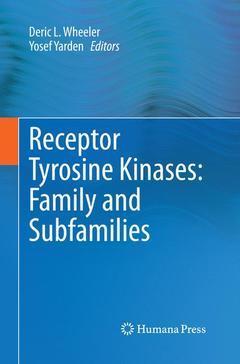 Couverture de l'ouvrage Receptor Tyrosine Kinases