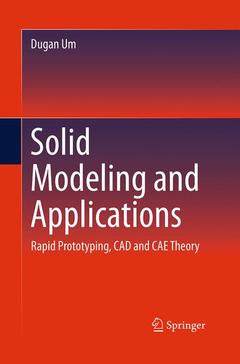 Couverture de l'ouvrage Solid Modeling and Applications