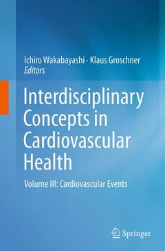 Couverture de l'ouvrage Interdisciplinary Concepts in Cardiovascular Health