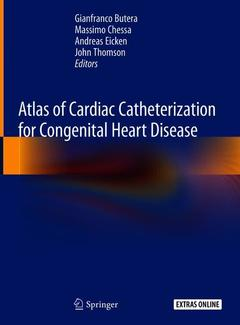 Couverture de l'ouvrage Atlas of Cardiac Catheterization for Congenital Heart Disease