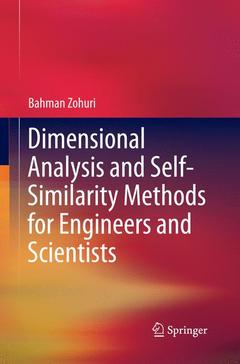 Cover of the book Dimensional Analysis and Self-Similarity Methods for Engineers and Scientists