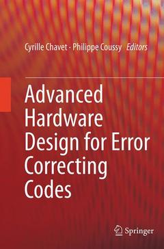 Couverture de l'ouvrage Advanced Hardware Design for Error Correcting Codes