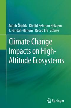 Couverture de l'ouvrage Climate Change Impacts on High-Altitude Ecosystems