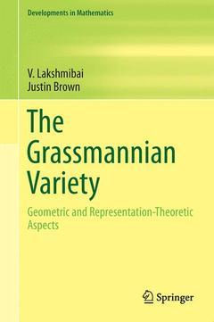Couverture de l'ouvrage The Grassmannian Variety