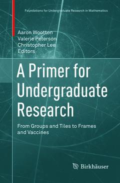 Cover of the book A Primer for Undergraduate Research