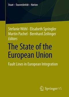 Couverture de l'ouvrage The State of the European Union