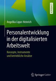 Couverture de l'ouvrage Personalentwicklung in der digitalisierten Arbeitswelt