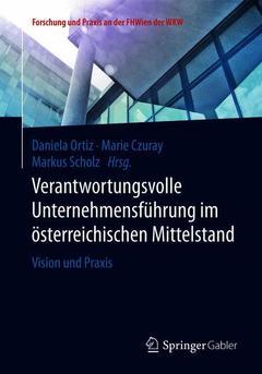 Couverture de l'ouvrage Verantwortungsvolle Unternehmensführung im österreichischen Mittelstand