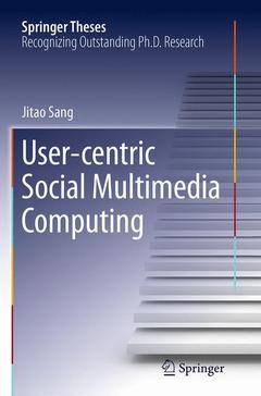 Cover of the book User-centric Social Multimedia Computing