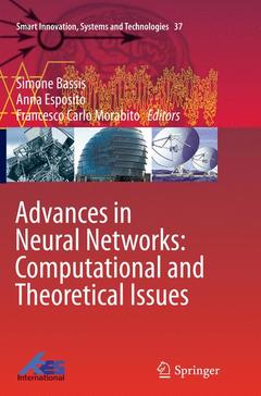 Couverture de l'ouvrage Recent Advances of Neural Networks Models and Applications