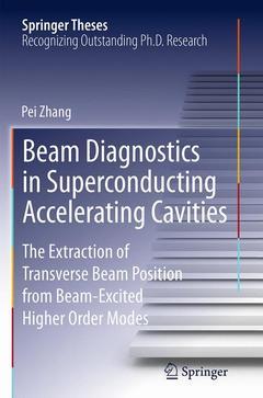 Couverture de l'ouvrage Beam Diagnostics in Superconducting Accelerating Cavities