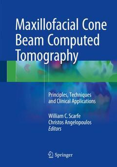 Couverture de l'ouvrage Maxillofacial Cone Beam Computed Tomography