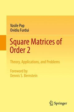 Couverture de l'ouvrage Square Matrices of Order 2